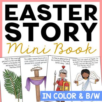 Easter FREEBIE! The Easter Story Mini Book