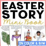 Easter Story Mini Book Craft   Religious Activity Project