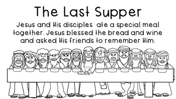 The Easter Story Posters and Stencils