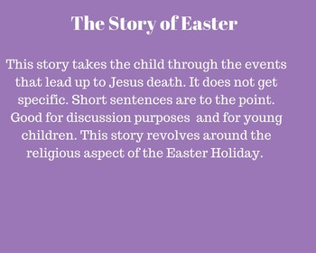The Easter Story: Religious