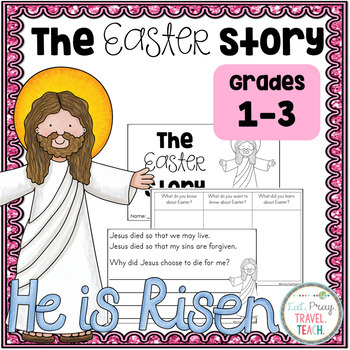 The Easter Story Religious Reader