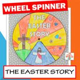 The Easter Story Wheel Spinner - Easter Religious Craft Ac