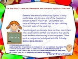 Common Core-The Easy Way To Learn The Associative &  Commu
