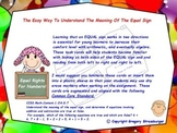 Common Core-The Easy Way To Understand The Meaning Of The Equal Sign Task Cards