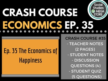 The Economics of Happiness: Crash Course Economics Ep. 35