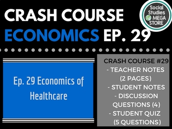 The Economics of Healthcare: Crash Course Econ Ep. 29