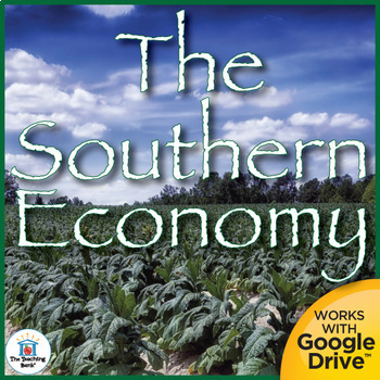 The Economy of the Southern Colonies Interactive Notebook