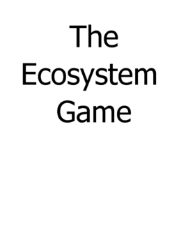 The Ecosystem BOARD GAME