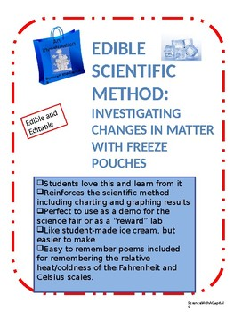 The Edible Scientific Method : Investigating States of Matter