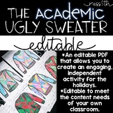 The *Editable* Academic Ugly Sweater