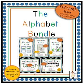 The Editable Alphabet Bundle