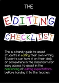 The Editing Checklist