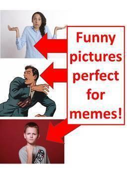 "The Educational Meme Game *Middle School Edition* (""Be a Meme Teacher!"")"