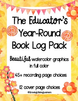 The Educator's Year-Round Book Log Pack