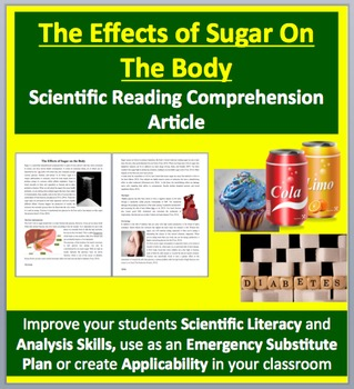 The Effects of Sugar on the Body - Grades 11 and Up - Science Reading Article