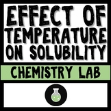 The Effect of Temperature on Solubility Lab