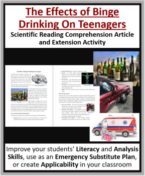 The Effects Of Binge Drinking On Teenagers - Science Reading Article