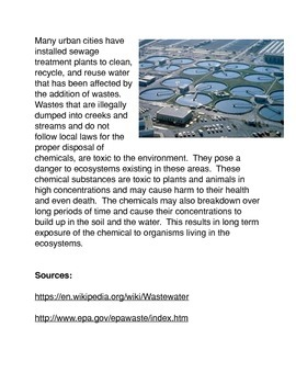The Effects of Chemicals on the Environment