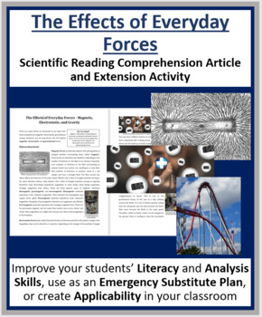 The Effects of Everyday Forces - Reading Article - Grade 8 and Up