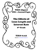 The Effects of Loan Length and Interest Rate INB TEKS 8.12A