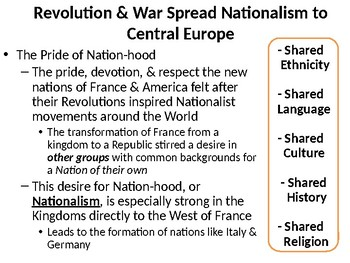 The Effects of Nationalism in Europe