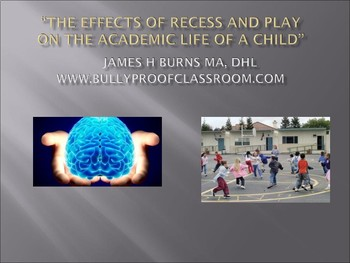 The Effects of Recess and Play on The Academic Achievement of Children