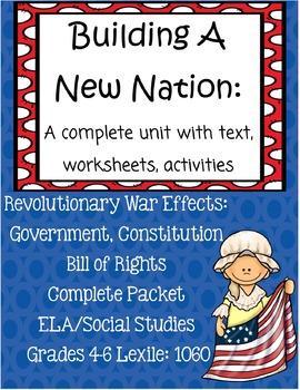 Revolutionary War Effects