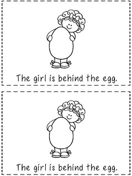 The Egg - A Positional Word Emergent Reader