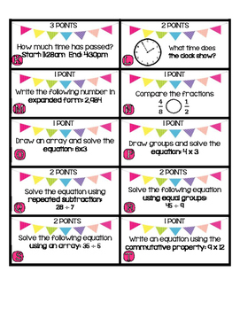The Eggcellent Math Hunt- 3rd Grade Common Core Test Prep