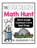 The Eggcellent Math Hunt- 3rd Grade Common Core Test Prep