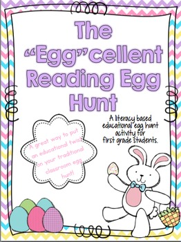 """The """"Egg""""cellent Reading Egg Hunt"""