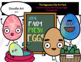 The Eggscape Clip Art Pack