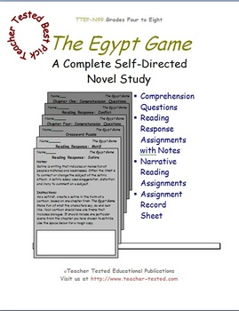 The Egypt Game: A Complete Novel Study