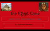 The Egypt Game - Interactive Google Slides Project