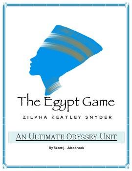 The Egypt Game Ultimate Odyssey Novel Study Unit