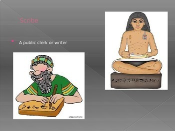 The Egypt Game Vocabulary Ch.15-19 PowerPoint