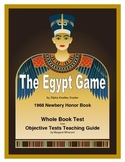 The Egypt Game Whole Book Test