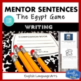 The Egypt Game: Mentor Sentences Writing Style