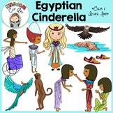 The Egyptian Cinderella Clip Art