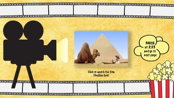The Egyptian Pyramids (Short Film Comprehension Task)