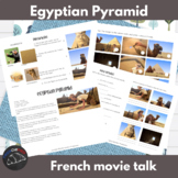 The Egyptian Pyramids - a Movie Talk for French learners