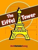 The Eiffel Tower {Mental Math Activity}