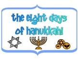 The Eight Days of Hanukkah (Writing)