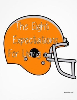 The Eight Expectations -Orange Football