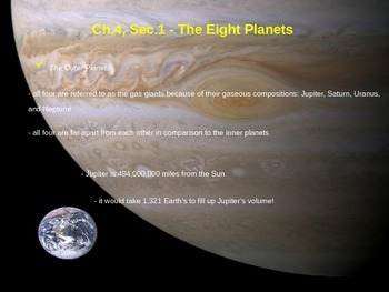 The Eight Planets