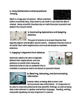 The Eight Science Practices (Scientific Method)