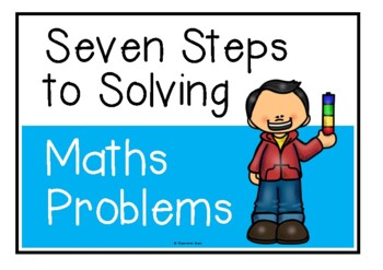 The Eight Steps to Problem Solving (Math)