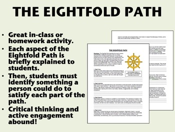 The Eightfold Path - Buddhism - Global/World History