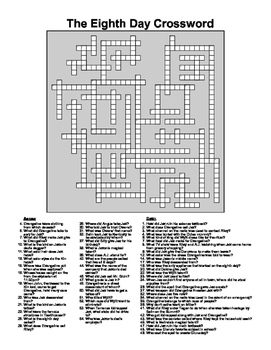 The Eighth Day by Dianne K. Salerni Study Guide, Quiz, and Crossword
