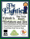 The Eighties Episode 6 Worksheets, Puzzles, and Test: Tear Down This Wall!